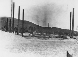Construction of the Tully Sugar Mill   Tully Sugar Limited